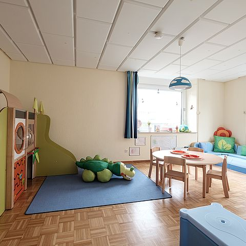 Child-friendly facility with many play options